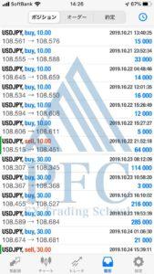 PFC実績者 北海道エキスパートクラス Sさん⑦ | PFC - FX Trading School